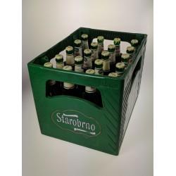 Pivo ležák světlý Starobrno Medium 11° 4,7% vratná láhev 20x0,5l