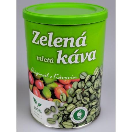 Zelená mletá káva Kávoviny 230g