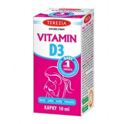 Vitamin D3 BABY kapky 10ml