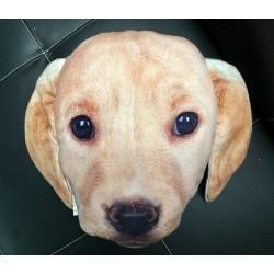 Polštář v designu psa - béžový