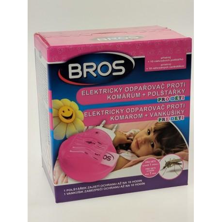 Bros- elektrický odpařovač proti komárům + polštářky