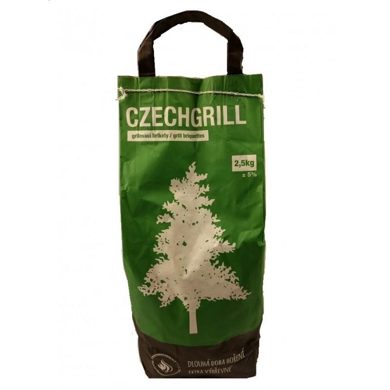 Grilovací brikety Czechgrill 2,5kg+,- 5%