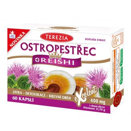 Ostropestřec + Reishi 60 kapslí