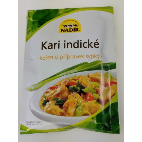 Kořenící přípravek sypký - Kari indické Nadir