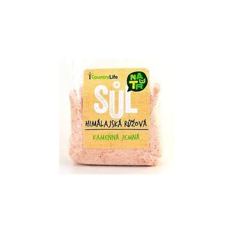 Himálajská růžová sůl - Kamenná jemná - Countrylife 500g