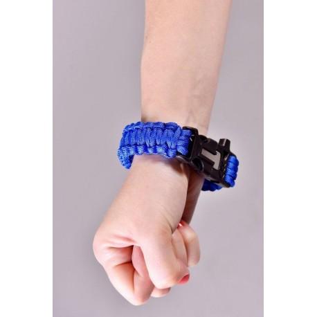 Náramek přežití - modrý