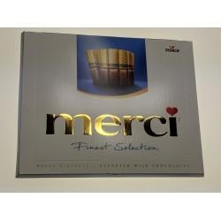Merci bonboniéra - Finest Selection 4 druhy čokolády
