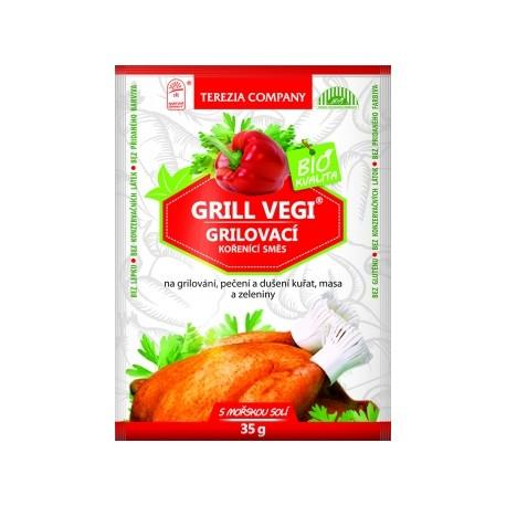 Grill Vegi BIO kořenící směs 250g