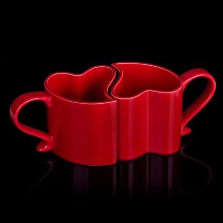 Zamilované hrníčky - červené