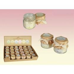 Svíčka z přírodního vosku - bavlna