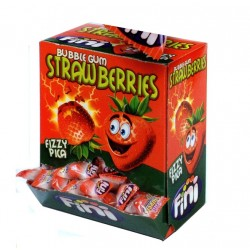 Jahodové žvýkačky - Fini