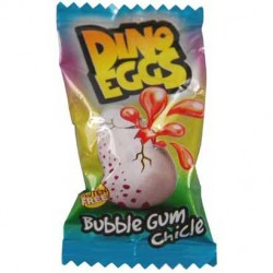 Žvýkačky Dino - plněná vajíčka - Fini 5g