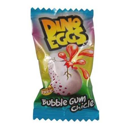 Žvýkačky Dino - plněná vajíčka - Fini 200 kusů