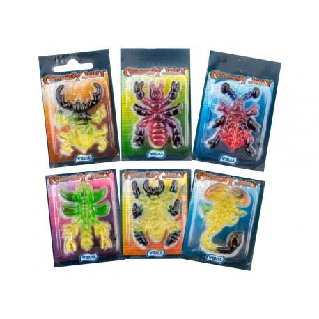 Hmyzí želé příšerky - Vidal 66 kusů