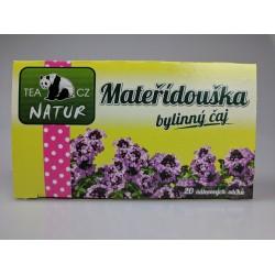 Mateřídouška bylinný čaj Panda Natur 20x1,5g