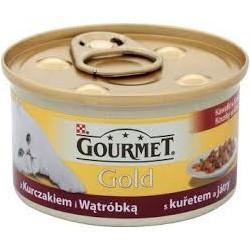Gourmet Gold - kuře a játra 24 kusů