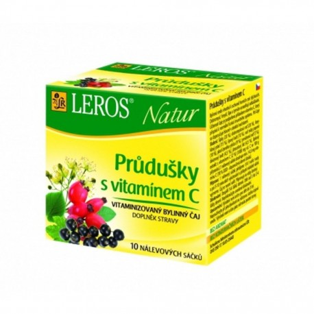 Čaj Průdušky s vitamínem C - LEROS