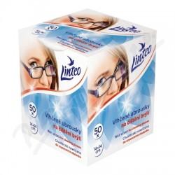 Vlhčené ubrousky na čištění brýlí 14x14cm - Linteo 1x50ks