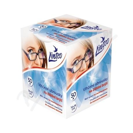 Vlhčené ubrousky na čištění brýlí - Linteo