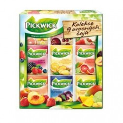 Ovocný čaj 9-ti chutí čaje dárková kazeta Pickwick 1x72g