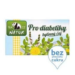 Bilinný čaj pro diabetiky - Natur Tea CZ Panda 1x(20x1,5g)