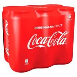 Coca Cola plechový obal 6x330ml