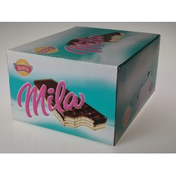 Polomáče oplatky s mléčnou náplní Mila Sedita 56x50g