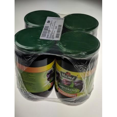 Švestkový kompot bez přidaného cukru - Hamé 660 g