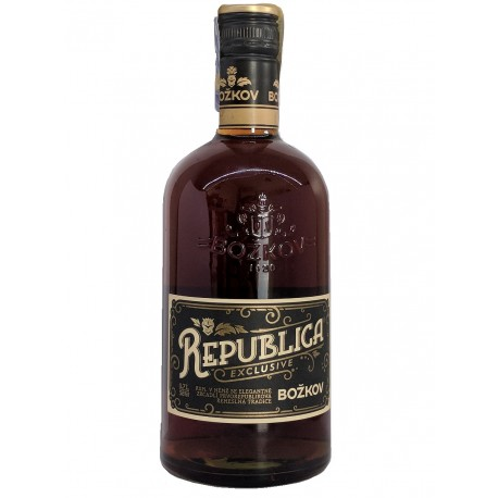 Republika Exclusive Rum Božkov 8594005019485 - 38% 1x0,7l