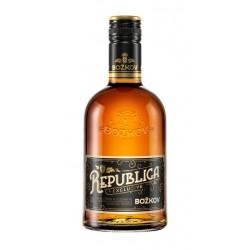 Božkov Republica třtinový rum 38% 1x500ml