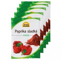 Paprika sladká mletá - Nadir 25 kusů