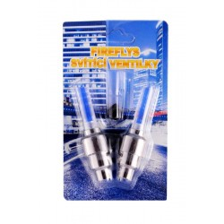 Svítící ventilky modré 2ks