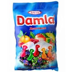 Plněné bonbóny s ovocnou příchutí - Damla 1 kg