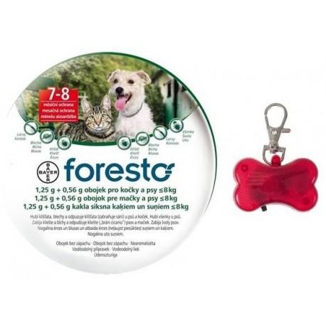 Obojek pro kočky a psy 38 cm - 1,25g + 0,56g - Foresto