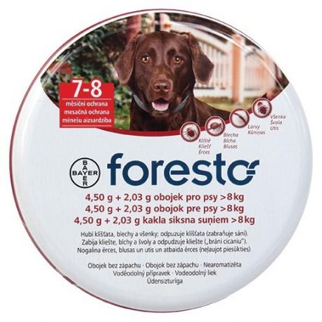 Obojek pro psy 70 cm - 4,50 g + 2,03 g - Foresto
