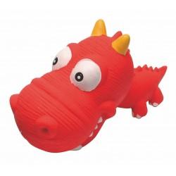 Hračka pro psy Dinosaurus B velká hlava - HUHUBAMBOO