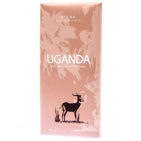 Mléčná čokoláda Tansania Afrika 1x100g