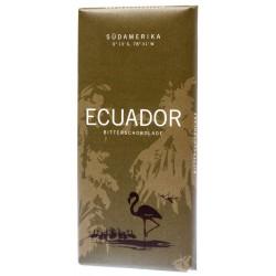 Hořká čokoláda Ecuador - Sudamerika 72% 1x100g