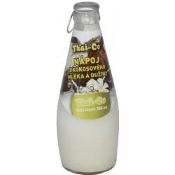 Přírodní thajský kokosový nápoj s dužinou - Thai Co