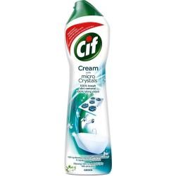Krémový čistící písek s mikro částicemi - Green - Cif 500 ml