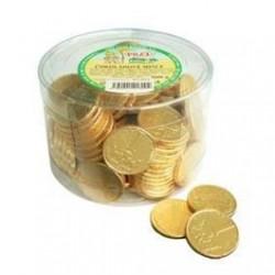Mléčné čokoládové mince - Poex 500g