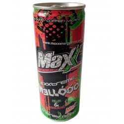Energy drink Mellóóó- meloun a angrešt - Maxx 250 ml