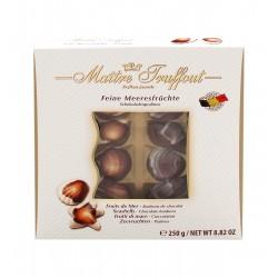 Čokoládová bonboniéra - plody moře 250g Maitre truffout
