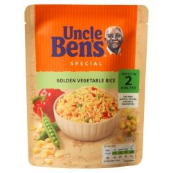 Zlatá rýže se zeleninou - stačí ohřát - Uncle Ben's 250g