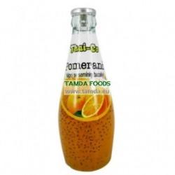 Nápoj se semínky bazalky - Pomeranč - Thai-Co