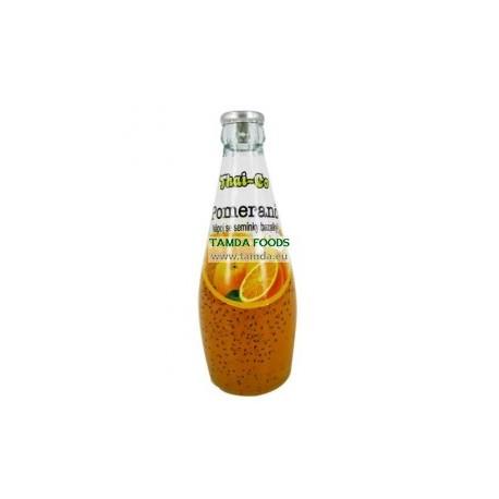 Nápoj se semínky bazalky - Granátové jablko - Thai-Co