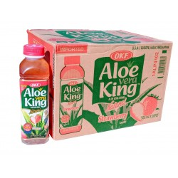 Aloe Vera drink s jahodou - OKF 20x500 ml