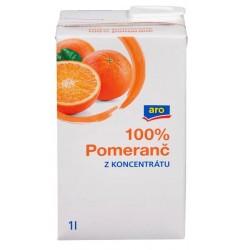 Pomerančový 100% džus - Aro 1l