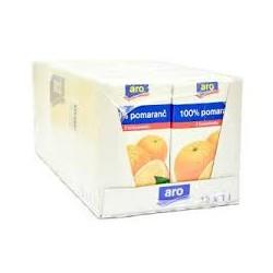 Pomerančový 100% džus - Aro 12x1l