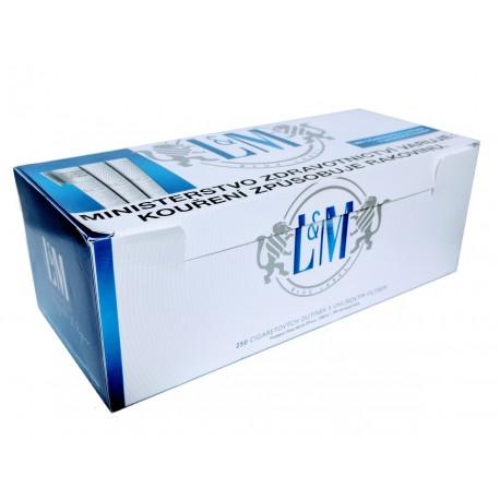 Cigaretové dutinky s uhlíkovým filtrem LM Blue Label 1x250 ks